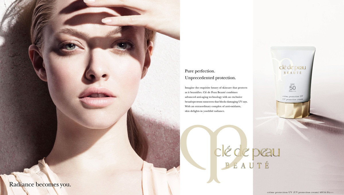 Kết quả hình ảnh cho UV Protective Cream SPF 50+ Cle De Peau